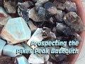 Colorado Pikes Peak Batholith Blue Amazonite and Smoky Quartz Crystals