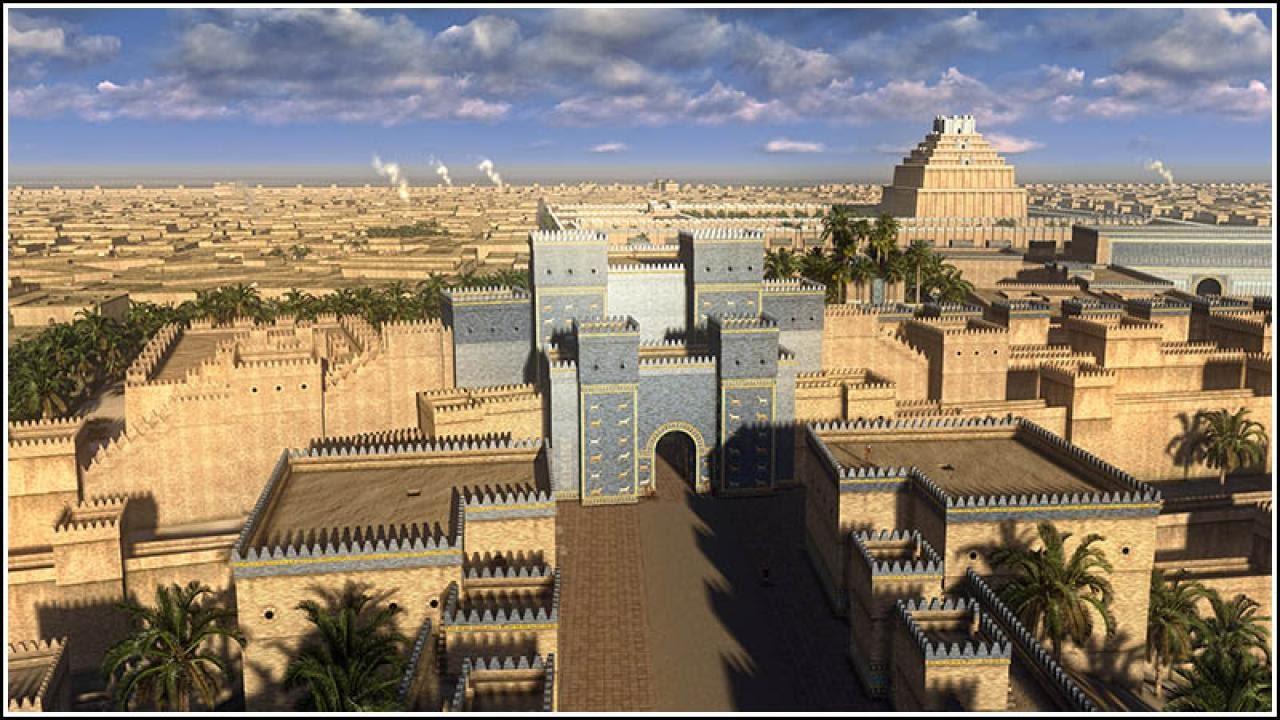الحضارة البابلية في • The Babylonian civilisation in • 3D ...