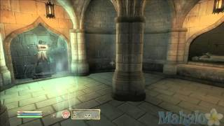 Elder Scrolls 4 Oblivion DLC - Knights of the Nine Walkthrough 4 - Priory of the Nine