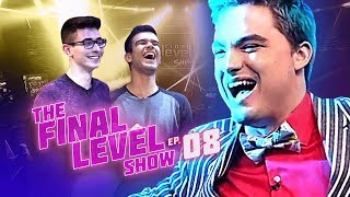 FELIPE NETO - THE FINAL LEVEL SHOW EP.8 - FLAKES POWER X GELLI CLASH thumbnail