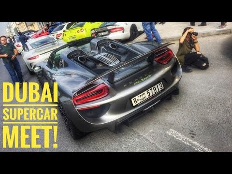 Supercar Club Meet Dubai 9th Degree