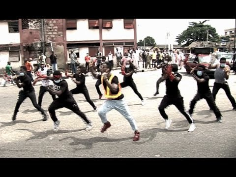 Dance Flash Mob @ Shitta - Surulere - TeamPyramidX