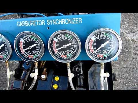 Suzuki GS1100G Carburettor Balance