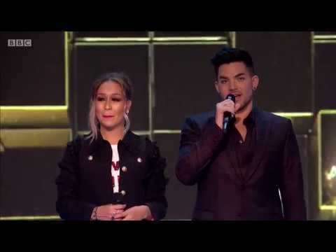 [HD] 2016-12-12 Adam Lambert at the BBC Music Awards