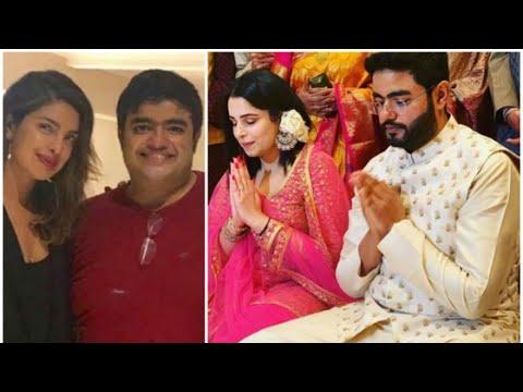 Is all not well between Priyanka Chopra's brother Siddharth Chopra and his fiance Ishita Kumar? Mp3