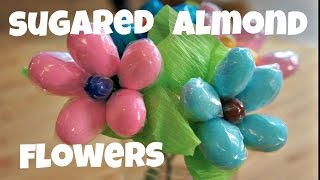 Make Jordan Almond Flowers for Mother