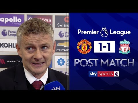 Solskjaer heaps praise on Rashford | Man United 1-1 Liverpool | Post Match Interview