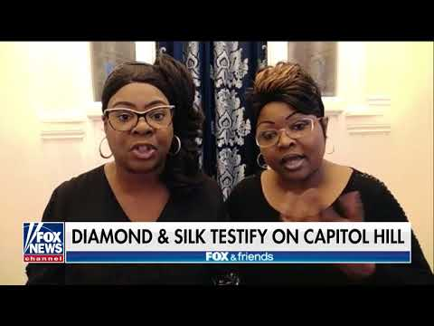 Diamond  Silk Weve never been paid by the Trump campaign