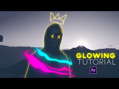 Animaciones Glowing After Effects Tutorial thumbnail