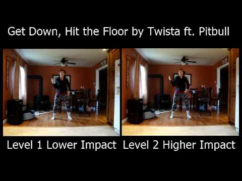 Get Down, Hit the Floor by Twista ft. Pitbull – Zumba Fitness Cardio, Legs, and Glutes