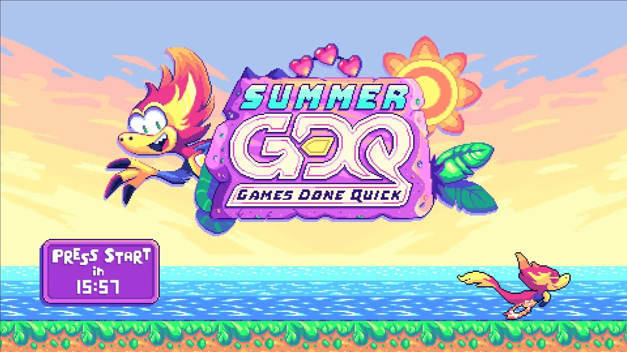 Summer Games Done Quick 2019 Preshow Youtube