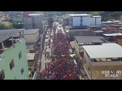 DRONE - BLOCO DE BAR EM BAR CARNAVAL 2018 - LIMA DUARTE/MG