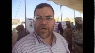 طبيب يفخر بمشاركته فى قافلة لعلاج عمال قناة السويس الجديدة