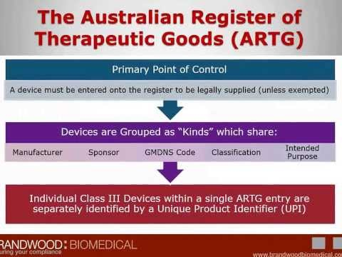 Australian Regulatory Requirements for Medical Devices