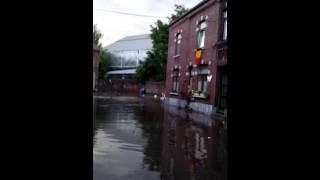 Inondations couillet 23 juin 2016 - Montée de l'eau 1