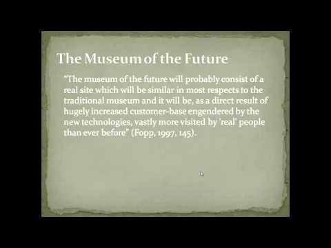 Module 7.1 - The Role of Museums in Society