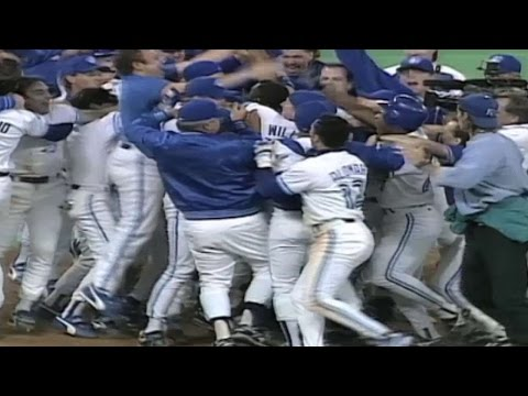 WS1993 Gm6: Scully calls Carter's historic homer
