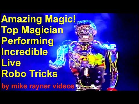 Amazing Magic Show, Best Ever Top Magician Talent Performing Live Robo Tricks