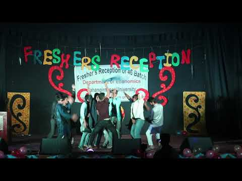 Group Dance||Fresher's Reception 2017||Batch 46||Department Of Economics||Jahangirnagar University