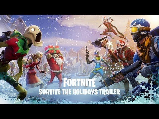 Weihnachts Event In Fortnite Battle Royale Lädt Zum Großen Grind Ein