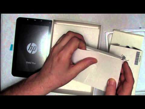 HP Slate 7 Plus Unboxing