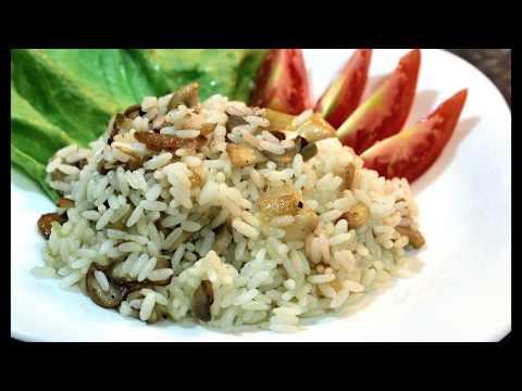 Рис с грибами и луком | Рис | Рассыпчатый рис