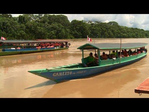 Peru indigenous people travel to see pope