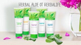 Косметическая линия Herbal Aloe Herbalife