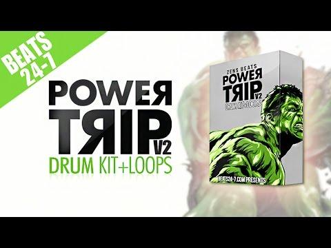 Trap Drum + Loops Kit (Free Tory Lanez Type Beat Demo) - Power Trip V2