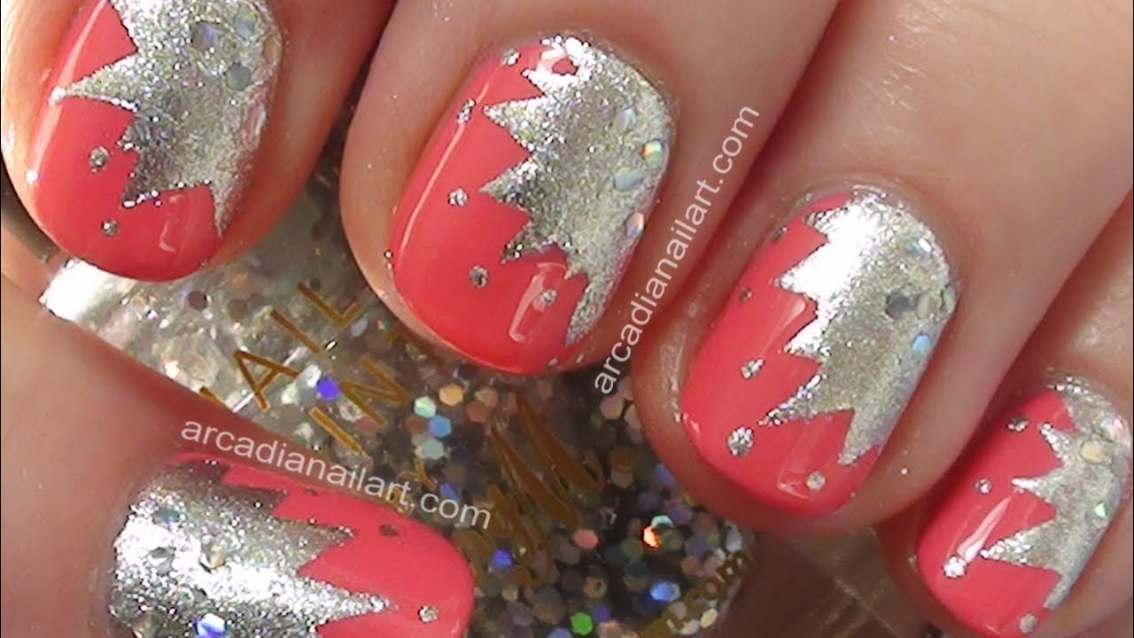 Easy nail art toothpick tape starburst nail art tutorial easy nail art toothpick tape starburst nail art tutorial arcadianailart youtube prinsesfo Gallery