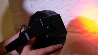 led par 18  светодиодный прожектор , светомузыка заливка для концертов и дискотек(, 2017-08-02T10:40:46.000Z)