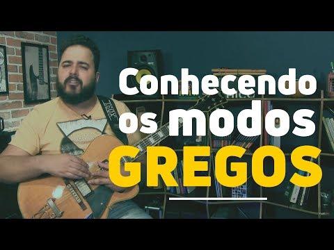 Conhecendo os MODOS GREGOS   1  Guitarra