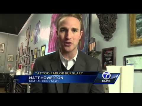Tattoo Shop Burglary