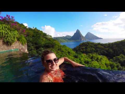 Room tour - Jade Mountain - Saint Lucia - Caribbean by Lala Rebelo