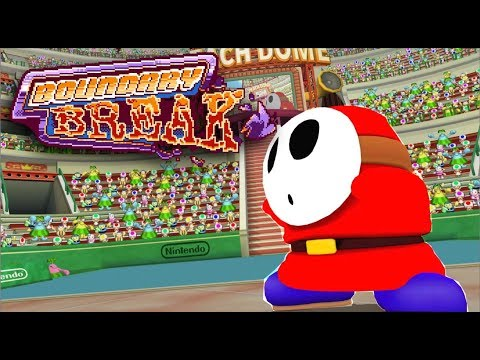 What Shy Guy Looks Like Without His Mask in 3 Different Games - Boundary Break