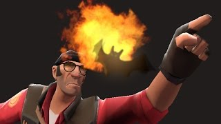 TF2 Unusual Something Burning This Way Comes Combos