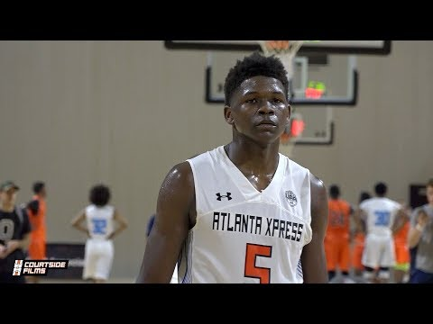 5Star Anthony Edwards Goes Crazy in ATL! UA Challenge Highlights