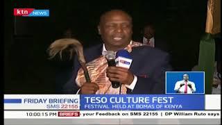 Senator Moi attends Teso Cultural Festival
