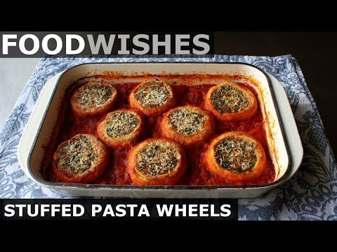 Stuffed Pasta Wheels Food Wishes
