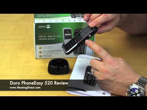 Doro PhoneEasy 520 Review