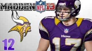 Madden 13 Career Mode Playoffs : Divisional Round vs Detroit Lions Ep.12