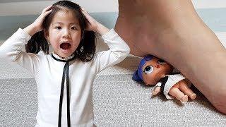 정리정돈을 잘 해야되요!! 서은이의 두근두근 쇼퍼홀릭 쇼핑걸즈 LOL 서프라이즈 Shopping Girls Princess Toys for Kids