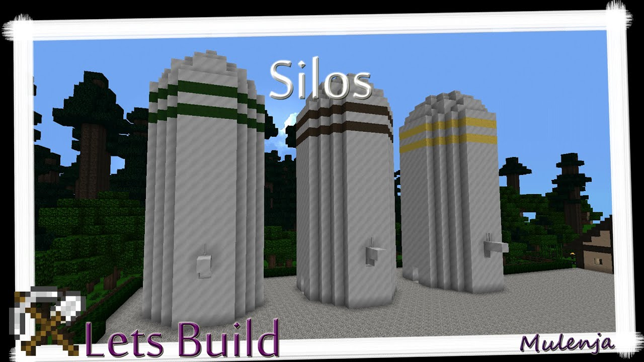 How To Build A Silo In Minecraft