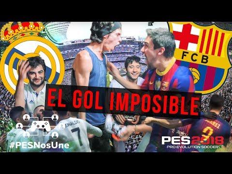REAL MADRID vs BARCELONA | El Clásico | PES 2018