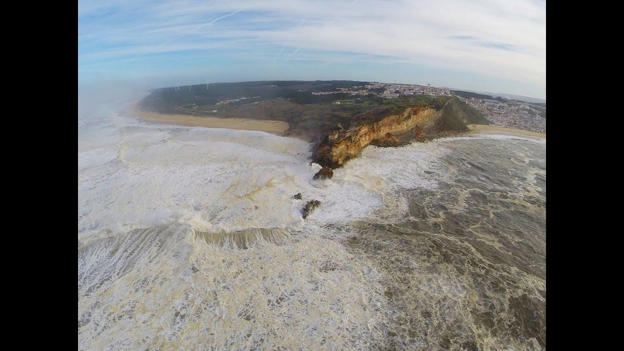 A fly-through of Nazaré Canyon - YouTube  |Nazare Canyon