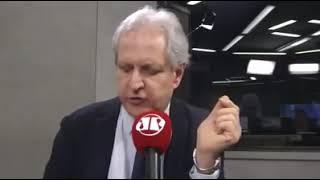 Augusto Nunes fala de suas impressões após entrevistar Jair Bolsonaro e cita Paulo Guedes