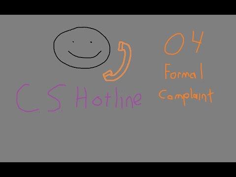 EVE Online: Wingspan CS Hotline - 04 - Formal Compaint