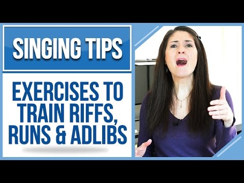 Freya's Singing Tips: Exercises to Train RIFFS, RUNS & ADLIBS
