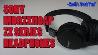 Sony MDRZX110AP ZX Series Extra Bass Headphones Review - Best Headphones Under $20?