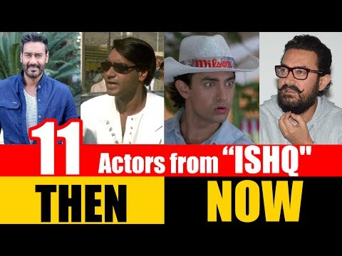 "11 Bollywood Actors from ""ISHQ"" 1997 